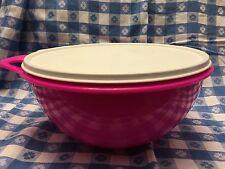 Tupperware Thatsa Bowl - 12CUP/2.8L - PINK/SUGAR - Mixing Storage