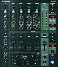 Behringer Mischpult Mixer DJX750 Pro 5 Kanal DJ Elektronik XPQ schwarz ohne OVP