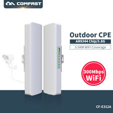 COMFAST 300Mbps 5.8Ghz Outdoor CPE bridge Wifi Access Point Router Repeater Kit