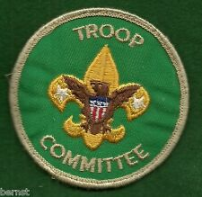 BOY SCOUT - ADULT POSITION PATCH - TROOP COMMITTEE