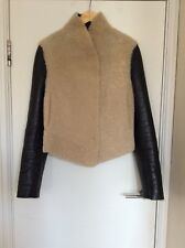 Joseph 2 Way Sheepskin Shearling Leather Jacket Coat 40 8 12 Only 1 On eBay