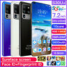 7.2 Inch 4GB+64GB Android Smartphone 10 Dual SIM 10-Core 5600mAh Mobile Phone US