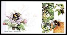 Bienen. Hummeln.  FDC mit  Block.  Weißrußland 2004