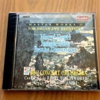 Master Works II For Organ & Orchestra : Dupre/Gilles/Demessieux CD NEW & SEALED