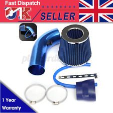 2.5''-3.0'' Blue Pattern Car Turbo Cold Air Intake Induction Hose System Filte