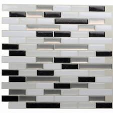 3D Self adhesive Wall tiles UK Peel and stick DIY Mosaic Tile Sticker ALIT80702
