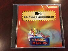 MUSIC MAESTRO KARAOKE 6337 ELVIS FILM TRACKS & EARLY RECORDINGS CD+G OOP SEALED