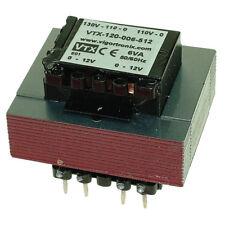 Vigortronix VTX-120-006-512 PCB Transformateur 110/220/240VAc 6VA - 12+12V