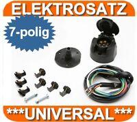 Elektrosatz E-Satz 7 polig universal AHK Anhängerkupplung