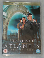 STARGATE ATLANTIS TEMPORADA 1 ONE COMPLETO DVD Box Set - NUEVO R2 GB