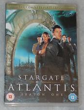 Stargate Atlantis Season 1 Uno Completo DVD Cofanetto - NUOVISSIMO R2 UK