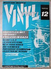 """EYELESS IN GAZA / TOP DOGS?  Talking Myth 7"""" Flexi & Vinyl Magazine # 12 - 1982"""