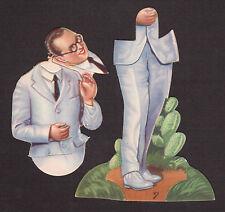 Harold Lloyd Vintage 1930s Die Cut Chocolate Card from Spain - Complete Figure