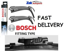 FOR CITROEN C5 (03-08) ALL MODELS FRONT WIPER BLADES BOSCH AEROTWIN