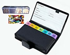 Blk Large 7 DayTravel/Home Pill Box Organizer Prescription Medicine Case