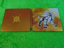 Ds pokemon sun steelbook tin seulement steel book no game fan edition