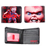 Horror Movie Seed of Chucky Wallet Short Bifold Purse Coin Bag Credit Card Case
