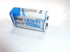 1 batteria/battery 9 v rechargeable NiMH  380 mAh + pochette sky free