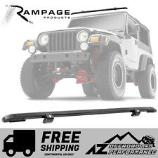 Rampage Windshield Header Channel for 1997-2006 Jeep Wrangler TJ LJ 901004 Black