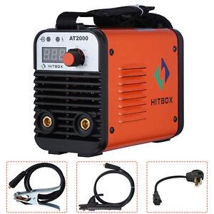 110V/220V Mini Electric Welding Machine IGBT DC Inverter ARC MMA Stick Welder US