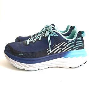 Hoka One One W Bondi 5 Women's Size 7.5 Running Shoes Trail Walking Outdoor Blue