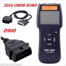 D900 Car Universal OBD2 EOBD Fault Code Reader Scanner Diagnostic Scan Tool 2016