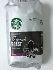 Starbucks French Roast Torrefaction DARK Whole Bean, 40 oz BB 04/2020