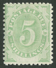 Postage Dues: 1902 (SG.D8) 5/- Emerald-Green, with variety. MLH. BW:D15d.