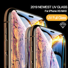 Full UV Glue 3D Curved Liquid Tempered Glass For iPhone X XS MAX XR 7 8 8+ US SA