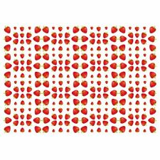 Unique High Quality Strawberry Gift Wrap-White Background (A3)-GP208