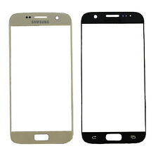 Gold Front Screen Glass Lens Replacement For Samsung Galaxy S7 G930 All Models