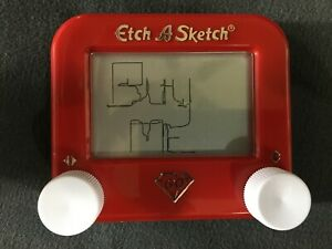 ETCH A SKETCH Mini Pocket 60th ANNIVERSARY Drawing Doodle Art - Collectible Toy