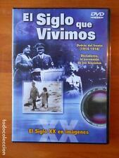 DVD EL SIGLO QUE VIVIMOS - DETRAS DEL FRENTE (1914-1918) - DICTADORES (P4)
