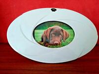 Bilderrahmen Fotorahmen  Porzellan Oval Zierrahmen  Bilder 16x 11cm Dreamlight