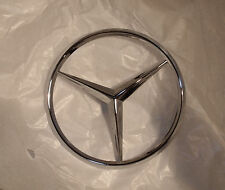 NEW Mercedes W123/CE/T & W126 SE/SEL/SEC Trunk Star Emblem, Rear Lid, FREE SHIPP