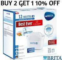12 PACKS - BRITA Maxtra+ Plus Universal Water Filter Cartridges (UK version)