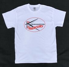 Kiekhaefer Mercury Vintage Style Outboard Motor Shirt Retro Nautical New White