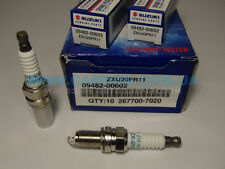 4x NEW Genuine Suzuki Denso SWIFT 11-17 Spark Plug Iridium ZXU20PR11 09482-00602