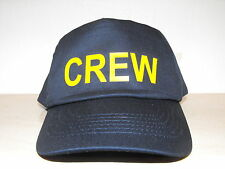 Crew Navy baseball hat cap ideal fancy dress up costume Boating holiday -