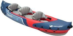 Sevylor Tahiti Plus Inflatable 3 (2+1) Person Kayak - Free Shippng