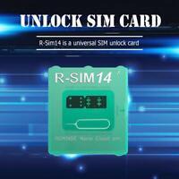 R-SIM14 V18 For iPhone XR/XS/X/6/7 Smart Phone Card Tool ICCID Unlock SIM Card