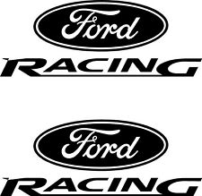 2 x Ford Racing Car Van Vinyl Bonnet Graphic L + R Side Vinyl Decals Stickers 67