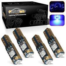 4pcs T5 74 3SMD 3030 LED Speedometer Instrument Gauge Cluster Dash Light Bulbs