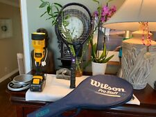 Wilson Pro Staff  5.5 si 110 Oversize Tennis Racquet - 4 1/4 L2 + Case NICEshape