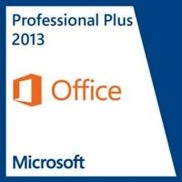Key for Microsoft MS Office Professional Plus 2013 32 / 64bit German Deutsch