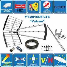 FUL KIT: VULCAN – 4G/LTE READY SUPER HIGH GAIN  DIGITAL HD TV AERIAL ANTENNA
