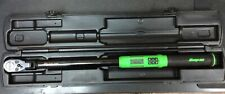 "SNAP-ON ATECH3F250VG 1/2"" DRIVE TECHANGLE DIGITAL TORQUE WRENCH 12.5-250FT-LB"