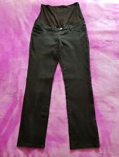 fd6528cd6b2b0 Dorothy Perkins maternity Size 10 over bump straight jeans - Distressed  Black