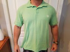 Chaps Mens Polo Short Sleeve Green Shirt xL