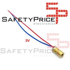 Diodo LASER Rojo 3V 650 nm 5mW 6mm Eletronica Arduino SP